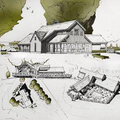 от вариант, который всех устроил. Ресторан Grill Yard на берегу пруда, проектное предложение в рамках инфраструктурного проекта