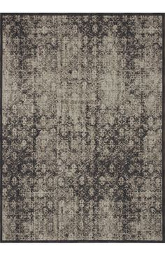 Loloi Rugs STAMOS | Loloi Stamos STAMSM01 - Charcoal