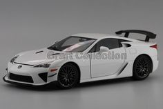 238.80$  Buy here - http://ali7gr.worldwells.pw/go.php?t=32567191926 - * White 1/18 Scale LEXUS LFA Tail Version Coupe Luxury Sport Car Collection Diecast Model Car Aluminum Several Colors