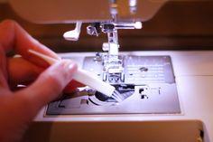 sewing machine maintenance via Coletterie
