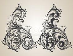 Image result for engraving scrolls