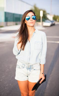The Chambray Shirt | The Darling Detail