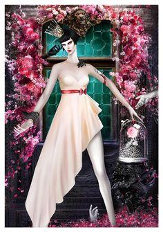 Illustration.Files: Viktor & Rolf S/S 2014 Haute Couture Fashion Illustration by Mahyar Kalantari