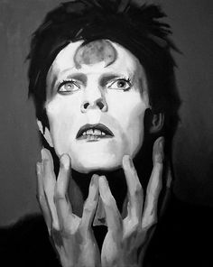 David Bowie Fine Art Print (Ziggy Stardust - Space Oddity - Spiders From Mars - Music Portraits - Icons)