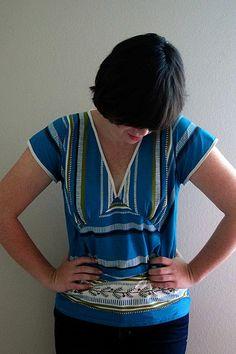 Free ladies top pattern Dixie DIY: Two Piece Tunic Downloadable Pattern!!!