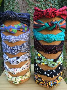 Sewing Headbands, Vintage Headbands, Cute Headbands, Handmade Headbands, Headband Tutorial, Diy Headband, Knitted Headband, Diy Hair Scrunchies, Diy Hair Bows