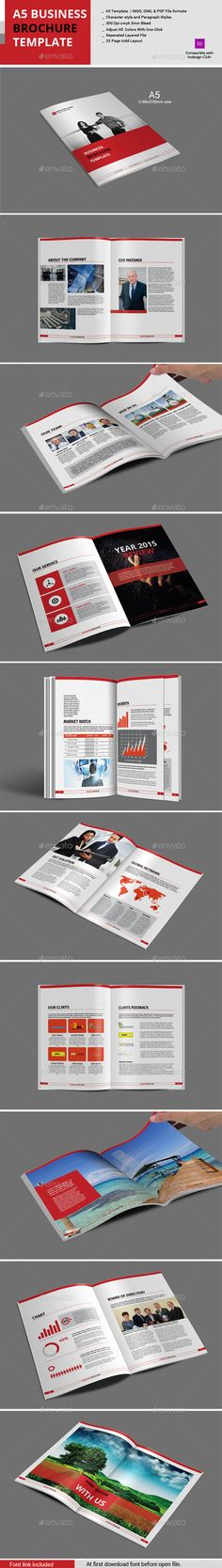 A Business Profile Template  A Template And Profile