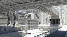 ArtStation - Sci-fi Environment, Yukiya Takeda