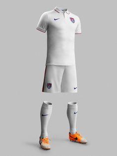 USA 2014-15 Nike Home