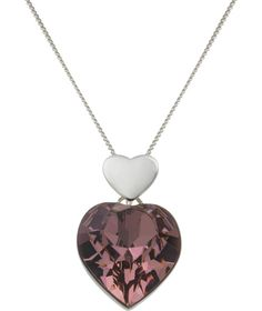 Buy Sterling Silver Heart Pendant at Argos.co.uk - Your Online Shop for Ladies' necklaces.