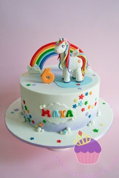 rainbow unicorn sheet cake Next Level Cakery cakes Pinterest