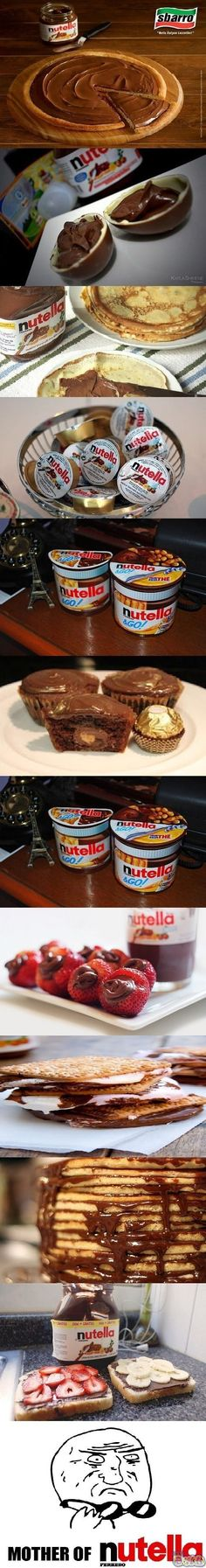 Sweet #mother of #nutella www.justdwl.net