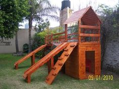 Decoracion mueble sofa: Casitas de madera infantiles para el jardin