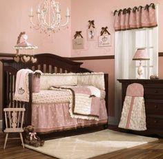 Daniella Baby crib Bedding by Cocalo is so beautiful.