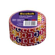 3M(TM) Scotch(R) Brand Duct Tape - Love Note