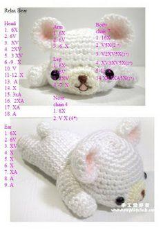 Amigurumi Ayıcık Yapılışı-amigurumi free pattern bear