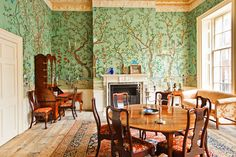 De gournay and Fromental Hand Painted Wallpaper of Chinoiserie Design  from Yrmural Studio with competitive price and superior quality