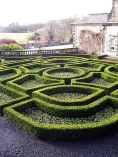 design | gardens & patios - scottish garden maze