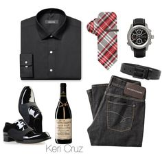 """Men's Holiday Party"" by keri-cruz on Polyvore"