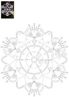 схема вязания снежинок крючком: 19 тыс изображений найдено в Яндекс.Картинках