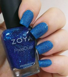Elizabeth at didmynails.com - Zoya Liberty swatch!  Her nails are simply the best!