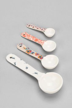 Plum & Bow Patterned Measuring Spoon - Set Of 4 - Urban Outfitters