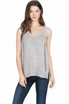 Lilla P Sweater Tank for Spring