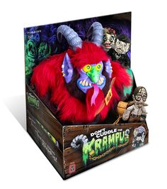 """Warpo's Latest Toy Is a Creepy, Cuddly Krampus - looks a little like """"My Pet Monster"""" :)"""