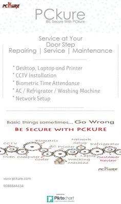 Service at your Door Step... Repairing |Service | Maitenance www.pckure.com