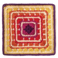 Merrian Crochet Square by Mellie Blossom, via Flickr