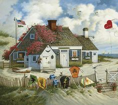 My all time fave! Root Beer Break by Charles Wysocki