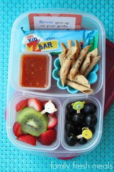School Lunch Round Up Week 16 - Chips and Salsa - @easylunchboxes - FamilyFreshMeals.com