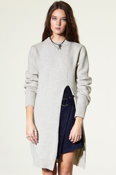 Emma Extreme Cut Out Pullover Discover the latest fashion trends online at storets.com #Extreme #CutOut #Pullover