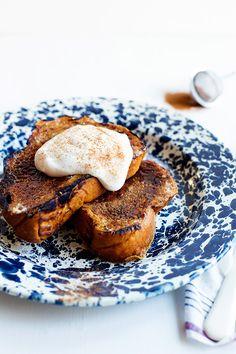 Pumpkin Brûlée French Toast