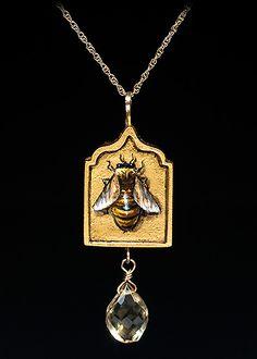 Renaissance triptych with bees - Christina Goodman