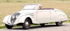 Peugeot 402 Eclipse, 1938. As it's #Eclipse day I thought I'd post a few Eclipses. The décapotable 402 was the world's first folding hardtop convertible, based on a patent filed by Georges Paulin in 1931