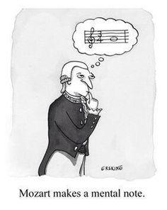 Mozart humor