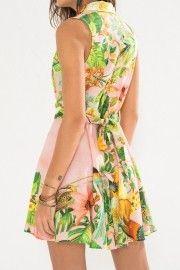 vestido camisaria tour tropical