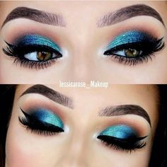 Thank you for the collage lovely @makeupasexpression  I am doing a look with blue again soon but this time on the lips