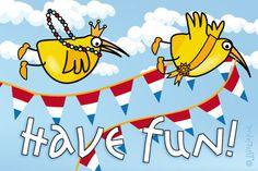 Gratis e-card: Have fun!
