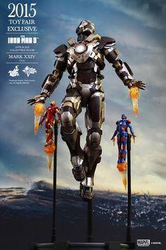 ToyzMag.com » Hot Toys : Iron Man Mark 24 en exclu