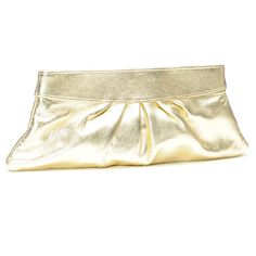 Can't go wrong with classic gold clutch. A must-have for every wardrobe.