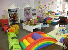 The ultimate playroom .....Best interior play area for kids / Piippa.COM