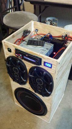 DIY Portable Stereo - Imgur