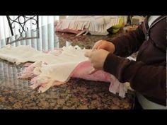 How to make a no sew purse - YouTube
