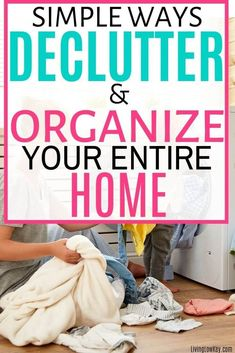 Such great tips! Are you feeling overwhelmed because of the clutter around your home? Such great hacks on how to declutter your bedroom, kitchen, and other small spaces in record time. If you are looking to declutter and organize your home this is a MUST READ. #declutter #declutteryourhome #declutterandorganize #declutterinaweekend #declutterin30days #declutterprintables