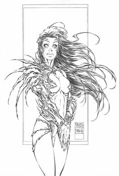 Witchblade (Sara Pezzini) by Michael Turner Michael Turner, Comic Book Artists, Comic Artist, Comic Books Art, Turner Artworks, Image Comics, Sci Fi Art, Adult Coloring Pages, Batman