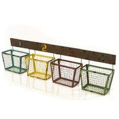 Easy Garage Storage, Smart Storage, Kitchen Organisation, Organization, Baskets On Wall, Living Room Designs, Diy, Furniture, Home Decor