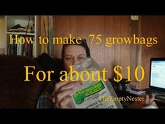 The ideal to use landscape fabric to make grow bags has been done for years, by many people. Garden Tips, Garden Ideas, Root Cellar, Veggie Gardens, Grow Bags, Landscape Fabric, Grow Your Own Food, Aquaponics, You Can Do
