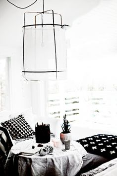 black and white relaxed deco - ♡ by www.lemondedesioux.com